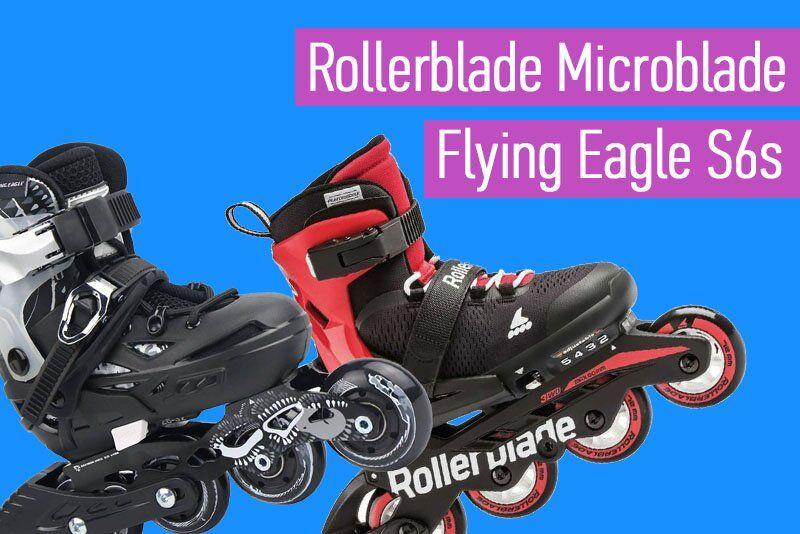 Какие ролики купить для слалома Rollerblade или Flying Eagle: плюсы и минусы