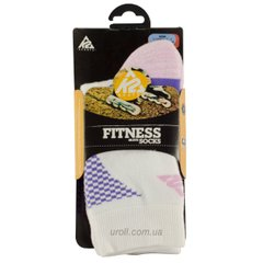 Носки для роликов K2 fitness skate socks white-lilac