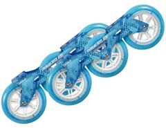 Powerslide Megacruiser Frame Set 3x125mm Blue